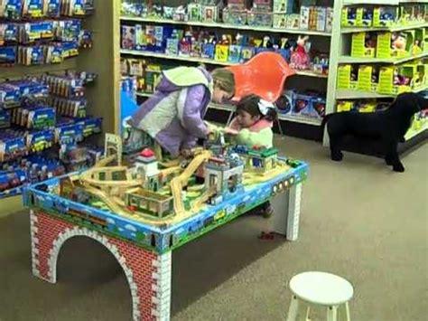 thomas the train table kids at thomas train table at toy house youtube