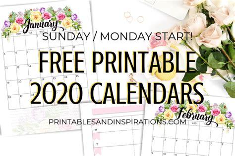calendar archives printables  inspirations