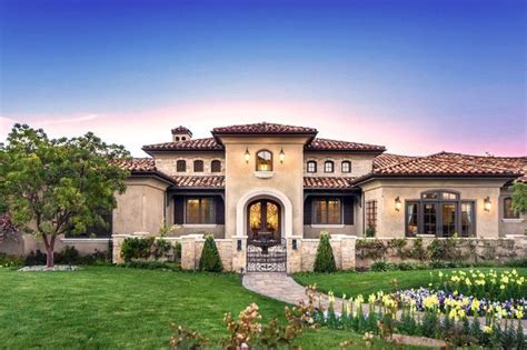 tuscan homes tuscany 1 story home images houzz home design houzz