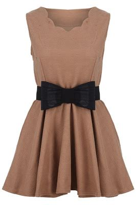 Bow Back Dress A21924 Apricot couture carrie december 2012