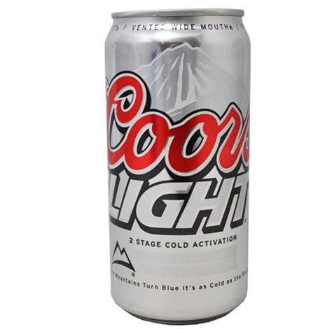 New Coors Light Can by Secret Can Safe Coors Light Diversion Can Stash Safe