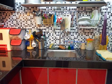 Kabinet Dapur Tanpa Table Top mamajue story