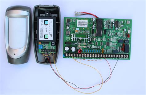 connect wired ir beam to gsm alarm system technology news