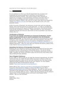 Of purpose for university admission example cover letter sample