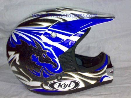 Helm Cross Kyt helm kyt cross 2 matic biru