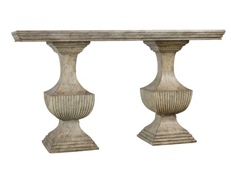 Pedestal Sofa Table urn pedestal base accent sofa console table ebay