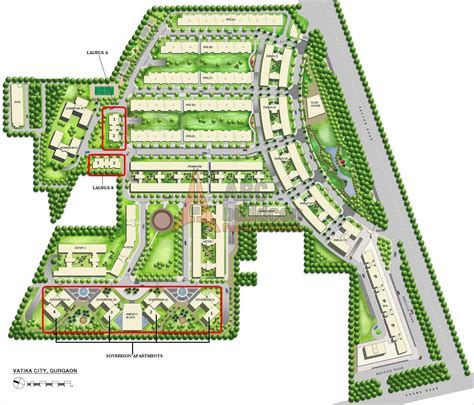layout plan of gurgaon vatika city sector 49 sohna road gurgaon