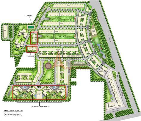 layout plan sector 52 gurgaon vatika city sector 49 sohna road gurgaon