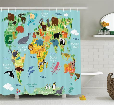 Kid Bathroom Shower Curtains 30 Shower Curtains With And Colorful Designs