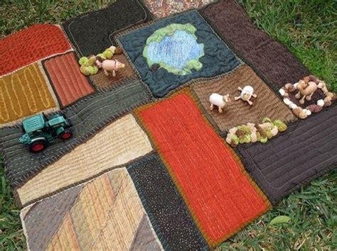 Handmade Playmat - play mat farm handmade