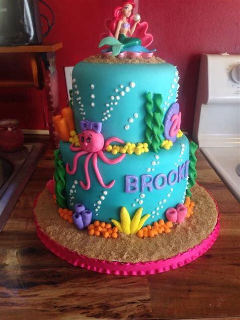 Ariel Birthday Cake Decorations by Mermaid Cake Cakes I Ve Made