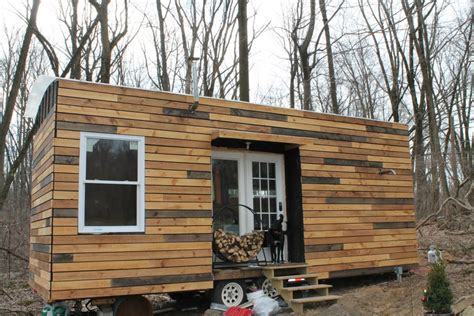 tiny homes on wheels nate and jen s house on wheels living simply and free in