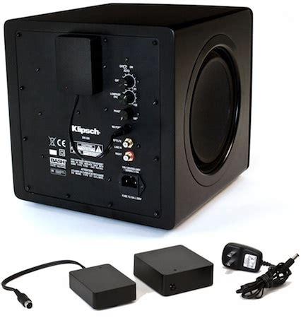 klipsch wa 2 wireless subwoofer kit ecoustics.com