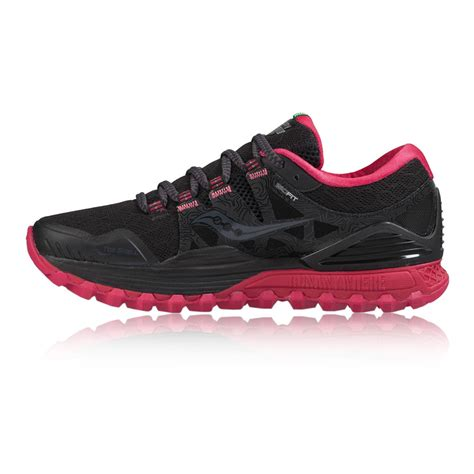 womens black saucony running shoes comfort saucony xodus iso womens trail running shoes