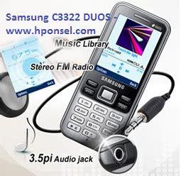 Hp Samsung S Duos Tabloid Pulsa harga samsung c3322 duos ponsel dual sim gadget