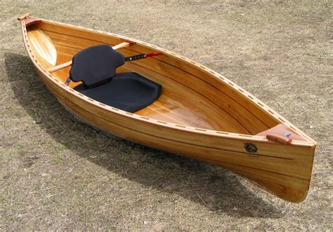 Handmade Canoe For Sale - laughing loon wooden built kayaks and canoes build