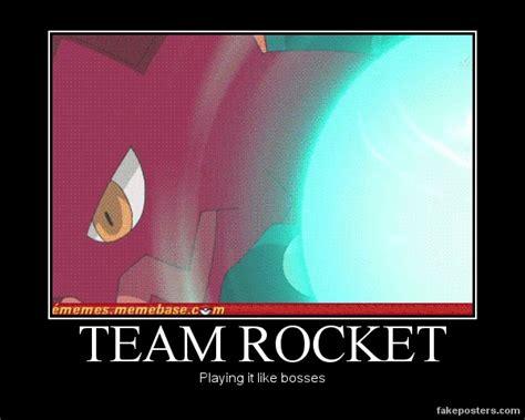 Team Rocket Meme - demotivational team rocket s rockin by hatsodoom on