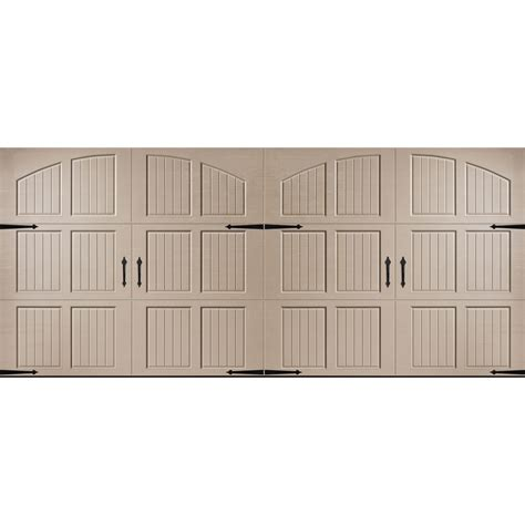 Shop Pella Carriage House Series 16 Ft X 7 Ft Insulated 16 Ft Garage Door