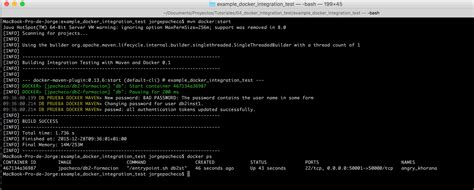 docker ps tutorial tutorial docker integration test adictos al trabajo