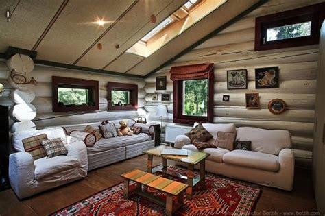 Luxury Ranch Interior Design by El Estilo Ruso Y El Interior De Las Casas De Madera