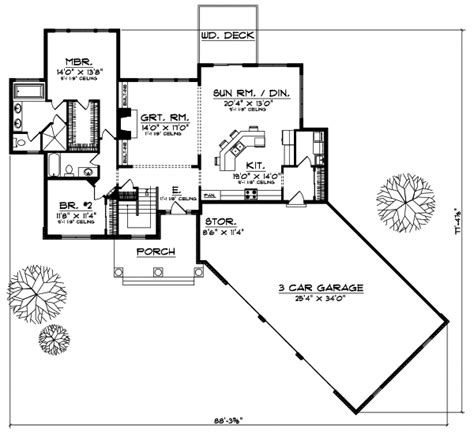 monsterhouseplans com any style house plans 1872 square foot home 1 story 2
