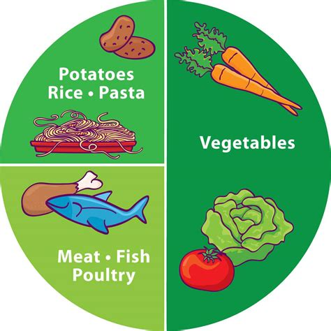 healthy plate diagram food pyramid replaced with healthy food plate thoughtful
