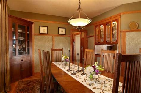 craftsman interior arts crafts homes