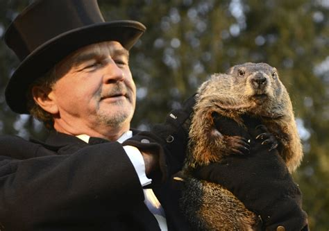 groundhog day weather report punxsutawney phil predicted 6 more weeks of winter weather