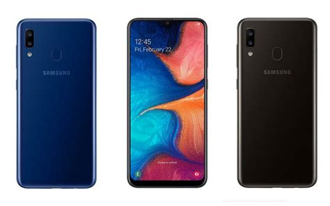 Samsung A10 X A20 by Samsung Galaxy A20 Launched With 6 4 Inch Amoled Display 4 000 Mah Battery Price