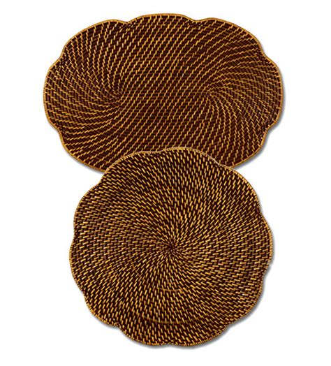 Dining Room Table Base For Glass Top by Rattan Place Mats Both Oval Amp Round Rattan Table Mats