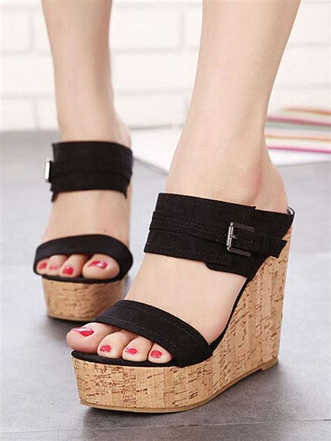 Sepatu Oliviaa Wedges 7747 best images about shoe shine on loafers peep toe wedges and wedge sandals