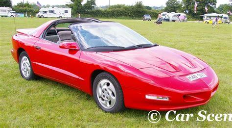 pontiac firebird 2005 american car show hatton country world u k 22nd june