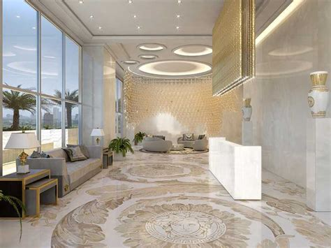 luxury duplex towers designed  versace home ad india