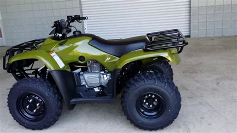 honda recon 250 review 2016 honda recon 250 atv walk around trx250tm