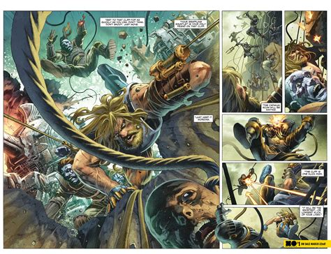 previews prevue vault s wasted space is full of sneak peek at x o manowar 1 previews world