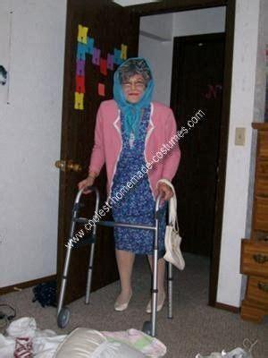 coolest homemade grandma costume grandma costume