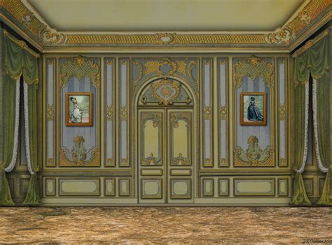 Rococo Floor by Ekduncan Fanciful Muse Rococo Style Room And 18th