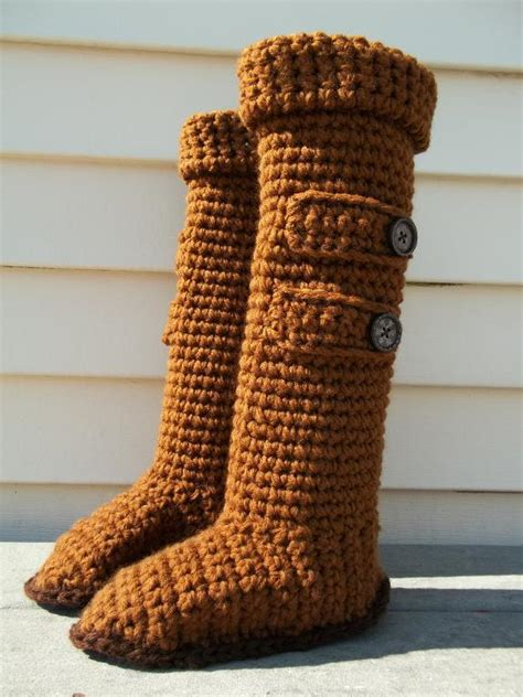 you to see knee high ugg slipper boots by joyful yarns