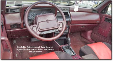 how cars run 1993 dodge shadow interior lighting dodge shadow review and photos