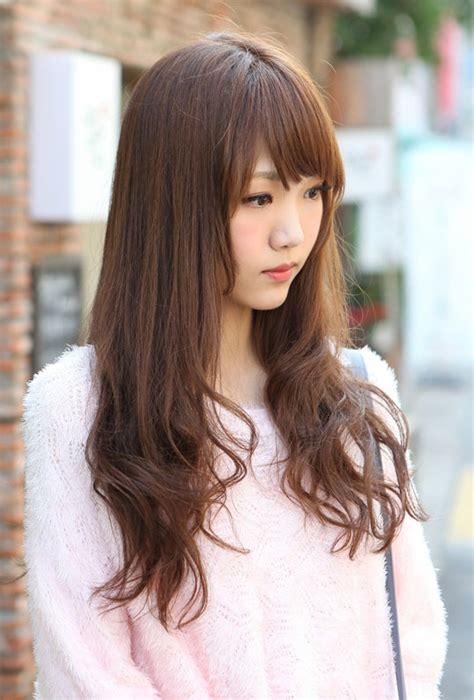 korean haircuts for long straight hair korean hairstyles 2013 long straight hairstyles for asian