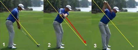 golf swing takeaway path backswing