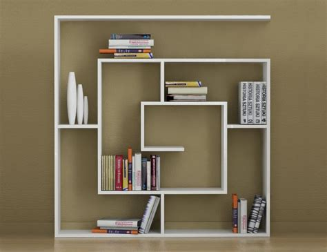 Small 2 Shelf Bookcase Oturma Odasi Decortie Labirent Kitaplik Beyaz