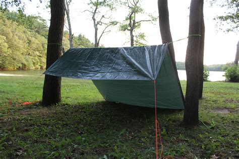 How To Build A Tarp Shed by How To Build A Tarp Tent For Kayak Cing Kayak Dave S