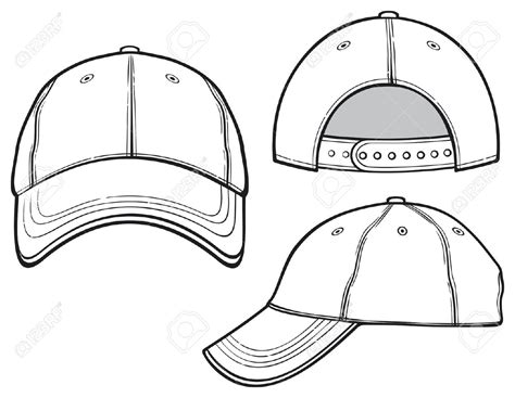 baseball cap template pin baseball hat template designs pictures on