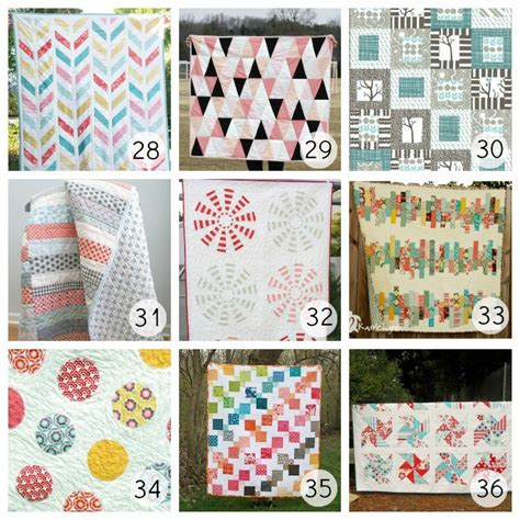 Different Quilt Patterns by 36 Beautiful Free Quilt Patterns U Create