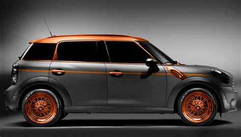 exterior design of car steunk mini countryman by carlex design autoevolution