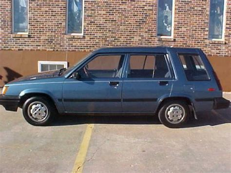 1987 Toyota Tercel Sell Used 1987 Toyota Tercel Wagon Quot Low Mile
