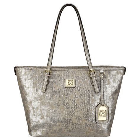 Tote Platinum klein medium tote in gray platinum lyst