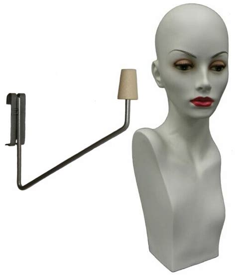 female display heads mannequin head forms display gridwall wig display mannequin head ladies display head