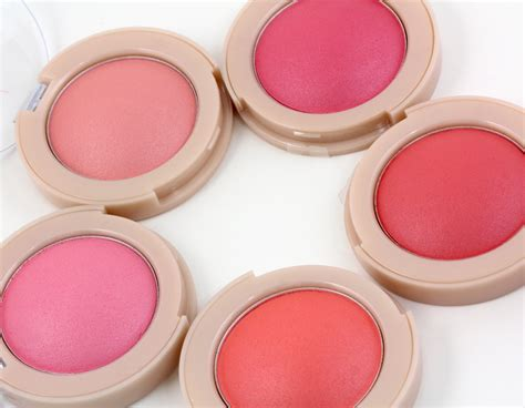 maybelline bouncy blushes makeup and